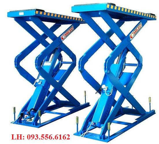 cầu nâng cắt kéo nâng bụng Carleo SL-563S của Đài loan