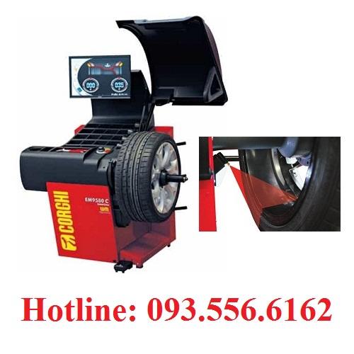 máy cân mâm coghi - EM9580 Plus laser line
